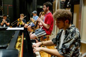Students at Jazz Camp